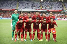 Vietnam men's team recognised in FIFA list