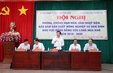 Mekong Delta needs long-term solutions to deal with saline intrusion