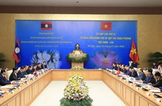 42nd meeting of Vietnam-Laos Inter-governmental Committee convenes in Hanoi