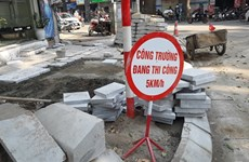 No more roadworks after January 10: Hanoi authorities