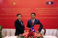 Vietnam, Laos bolster justice cooperation