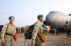 Meeting looks at final plan for Asia-Pacific Peacekeeping conference