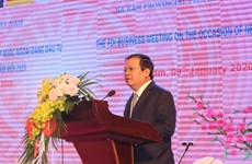 Ha Nam province pledges more support for FDI firms