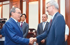 Ho Chi Minh City, France boost ties