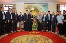 Thua Thien-Hue, Lao province review cooperation