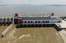 Lao hydropower plant connected to Cambodia's grid
