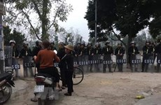 Hanoi's police prosecute disturbance case in Dong Tam commune