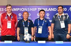 Vietnam ready to face familiar foe UAE: coach Park Hang-seo