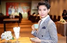 Vietnamese singer featured in American entertainment magazine