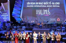 Ha Long international music festival opens