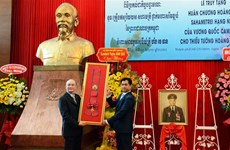 Late leading officer of voluntary army in Cambodia honoured