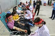 Blood drive held in Ninh Binh