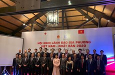 Vietnamese, Japanese local leaders meet