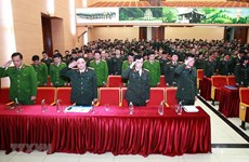 Public security force honours officers killed in Dong Tam incident