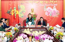 NA Chairwoman works with Dak Lak province's leaders