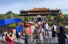 Traditional Tet revived at Hue citadel