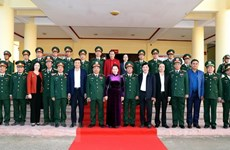 NA Chairwoman visits Dak Lak provincial Military High Command