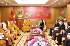 Mass mobilisation head urges Buddhists to strengthen national unity