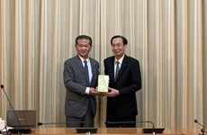 HCM City leader receives Japanese city governor