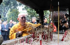 Overseas Vietnamese pay tribute to Ly Kings in Bac Ninh