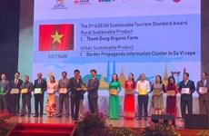 Vietnam bags more tourism awards at ASEAN Tourism Forum