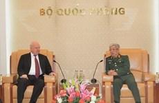 Deputy Defence Minister hosts Russian Ambassador
