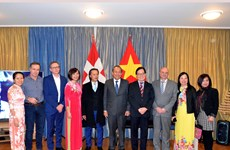 Deputy PM attends Tet celebration of expats in Switzerland