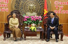 Cambodian Deputy Prime Minister pays Tet visit to Long An