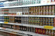Beer sale drops remarkably ahead of Tet