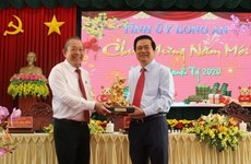 Deputy PM Truong Hoa Binh pays Tet visit to Long An province