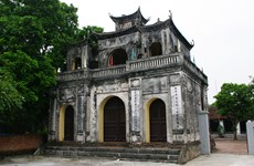 Xich Dang temple of literature in Hung Yen