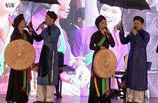 Bac Ninh preserves and develops Quan Ho folk songs