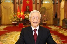 Leaders of Vietnam, Russia exchange congratulations on diplomatic ties
