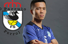 Vietnamese footballer to play for Spanish futsal club
