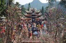 Spring festivals in full swing in Hanoi