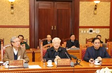 Top leader chairs meeting of Party Central Committee's Secretariat