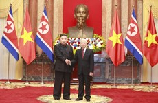 Vietnam, DPRK exchange congratulations on diplomatic ties