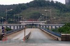 Trade via Lao Cai Int'l Border Gate drops sharply