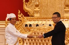 Myanmar President lauds sound relations with Vietnam