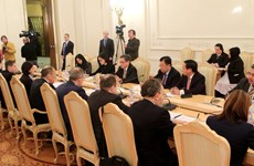 ASEAN Secretary General, Russian FM hold talks