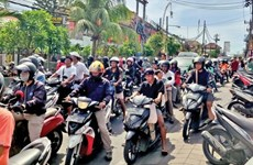 Indonesia's light rail transit system to reduce traffic jam in Bali