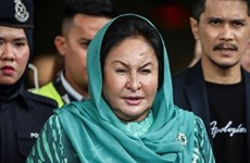 Wife of ex-Malaysian PM fails to appear in court