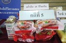 Thailand arrests two smuggling heroin in instant noodles