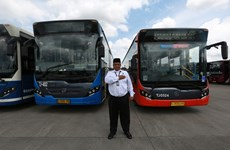 Indonesia: Transjakarta makes record for serving one million passengers per day