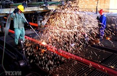 Hoa Phat posts 11.3-pct rise in construction steel export volume
