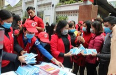 Vietnam Red Cross Society launches anti-nCoV campaign