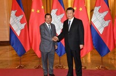 Chinese President pledges to encourage investment in Cambodia