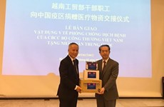 Vietnamese ministry donates medical devices to Chinese people