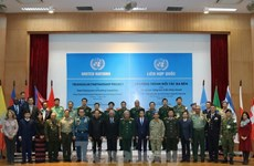 UN heavy engineering equipment operation course launched for instructors