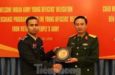 Vietnamese, Indian young officers bolster exchange